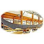 50ft Hybrid Canadian canoe.