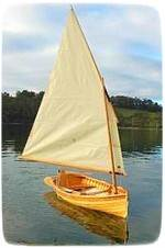 huron pine dinghy