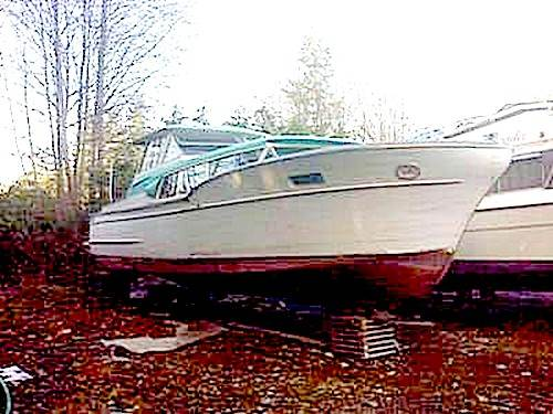 La Donna 1957 Chris Craft Commander