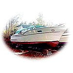 "LaDonna"" is a 1957 32' Chris Craft Commander"