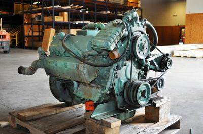 The 8.2L Detroit Diesel about a 160 HP