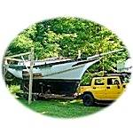35' Topsail schooner. Built in 1975 - 1990 in Bayou George Fl by Marvin Boase. Launched July 1998
