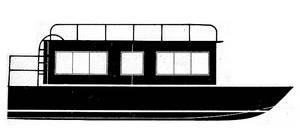 Bayou Belle houseboat plans
