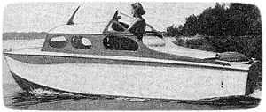 eager eve motor boat plans