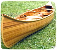 Strip Planked Canoe