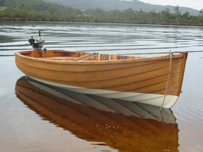 12' Fazackerley King Billy Clinker dingy
