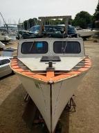 27' Ed Monk wooden cruiser.