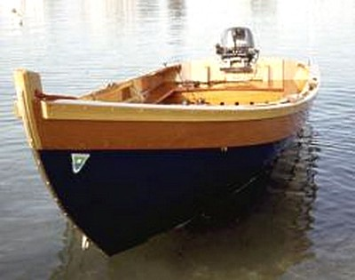 14ft Amesbury Skiff-Built in 2001 by The Lowell Boat Company.