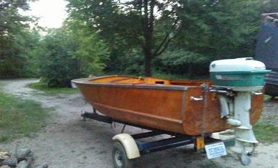 One of a Kind wooden boat from Nova Scotia