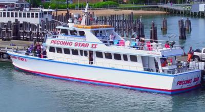 Peconic Star II dockside