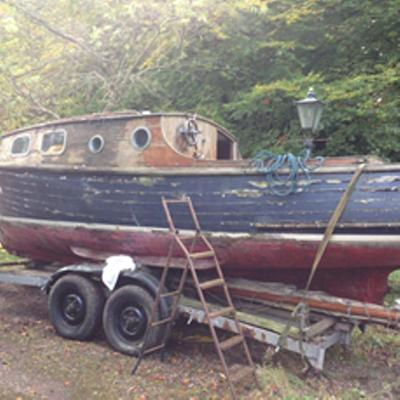 bemister 23ft sloop