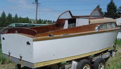 1951 Chris Craft 22' Express Cruiser