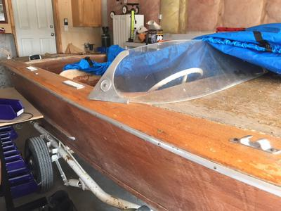 1954 Owens 16foot (Rare) Project Boat for sale