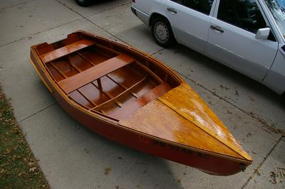 1956 12' Homemade Row Boat