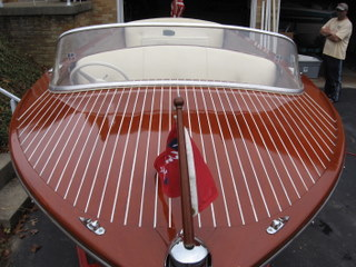 Asking $18,500 for this beautiful Chris Craft.