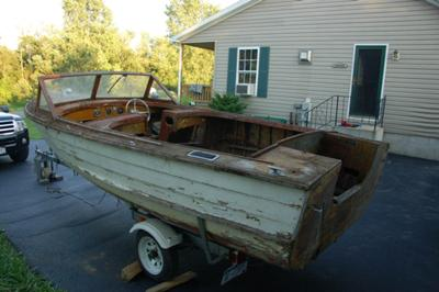 1958 17 Ft. Cayuga Runabout (project)