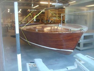 1960 chris craft sportsman restoration project for Chris craft boat restoration