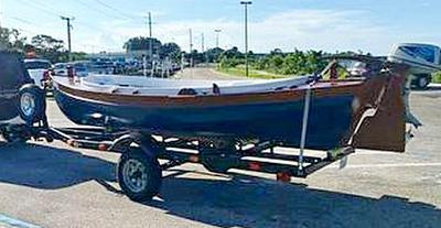 South Jersey Beach Skiff