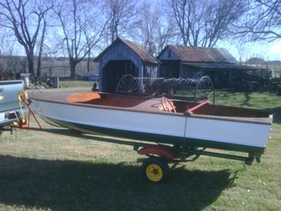 19xx? Yellow Jacket Boat 14'