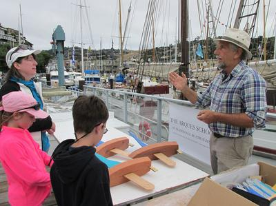 Arques School helping make model boats for children