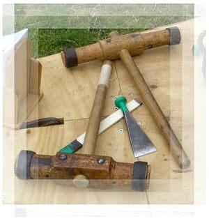 Traditional Caulking Tools