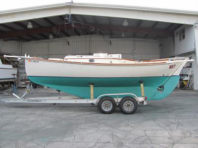 24' Custom Coldmolded Pocket Cruiser