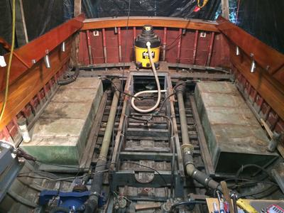 33ft Hubert Johnson Jersey Sea Skiff Project