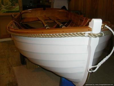 8ft Classic 'Squadron' Clinker Dinghy