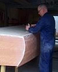 Plywood on