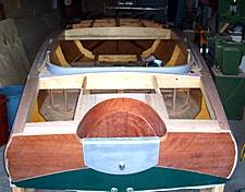 plywood on frame boat
