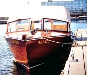 1959 Andress 26' utility boat