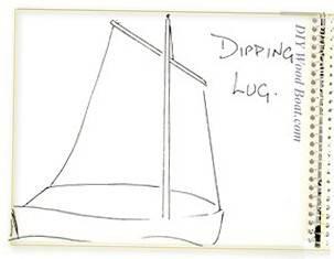 Basic Dipping Lug Sail