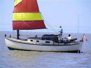 Mignonne under sail