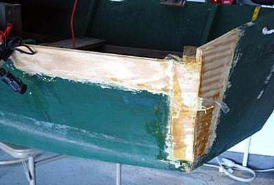 Plywood repair
