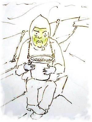 Seasick Jumblie Cartoon