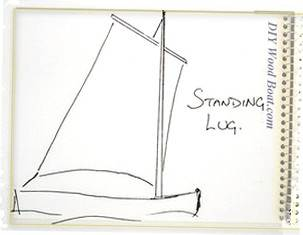 Sail Cloth, Standing Lug