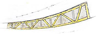Spiling Truss Template