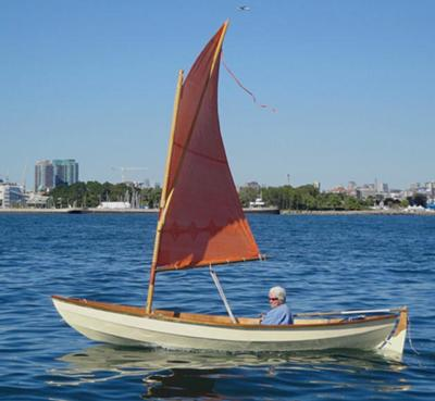 Sailing in my Skerry