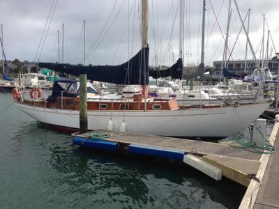 Arthur Robb Lion Class 35ft Yacht Built Of Mahogany On Oak Frames In 1955