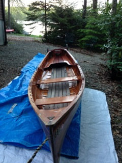 "Beautiful ""Little Rangeley"" 14' guide boat"
