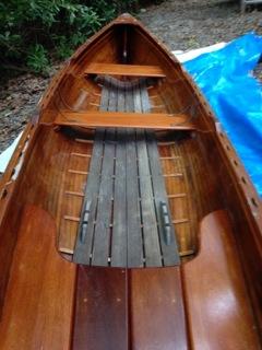 """Beautiful """"Little Rangeley"""" 14' guide boat"""
