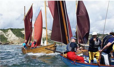 Puffin under sail four years ago