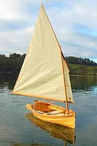 HUON PINE Sailing Dinghy