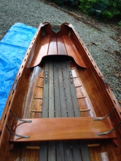 "14 foot ""Little Rangeley"" handmade in Maine by RKL boat works"