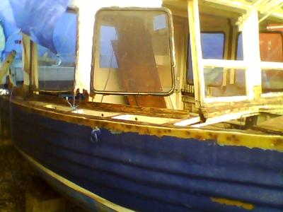 Clinker Fishing Boat Fully Restored and Working