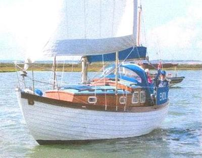 One of her sailing  some time ago