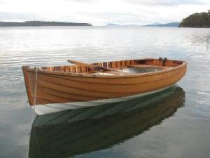 """Fazackerley 12' King Billy Clinker dinghy -""""Little Chook"""""""