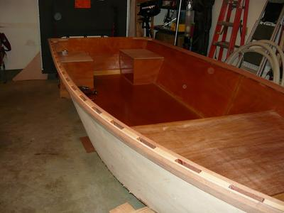 Finishing an Alansboat designed by Jim Michalak
