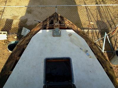 rotten deck forward