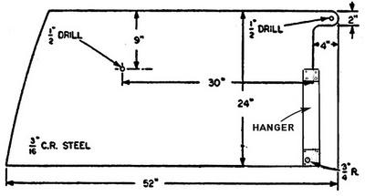 Centerboard hanger
